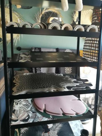 Set de table design PVC milticolore